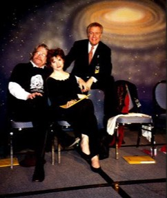 David Ossman, Melinda Peterson, Phil Proctor at Minicon 33